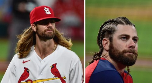Fans react after Cardinals pitcher makes drastic hairstyle change