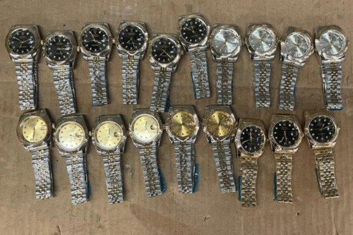 PHOTO: 19 fake Rolex watches seized at JFK Airport