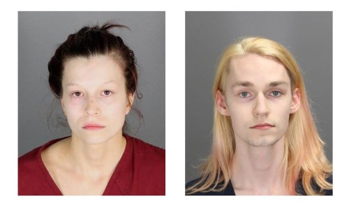 Oakland County couple charged with arson after setting fire to same home twice, caught on video