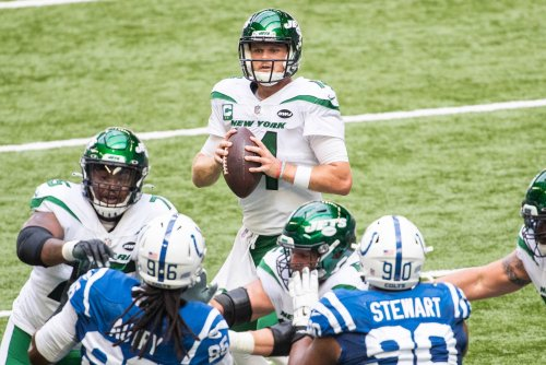 Why teams may be wary trading for Jets QB Sam Darnold