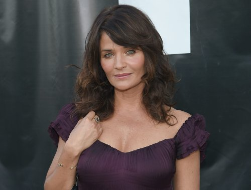 Supermodel Helena Christensen, 52, stuns in plunging swimsuit to recreate 1990 modeling photo