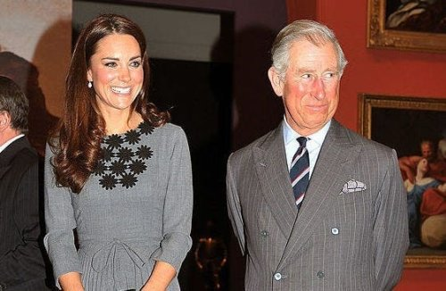 WATCH: Kate Middleton publicly greets father-in-law Prince Charles with personal nickname