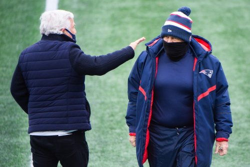 Did Patriots owner Robert Kraft just give Bill Belichick a taste of his own motivational medicine?
