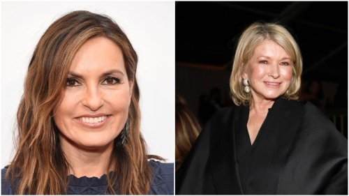 Mariska Hargitay responds to Martha Stewart's surgery update as both recover from injuries