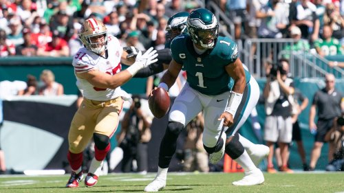 Hurts, Sirianni struggle in Eagles ugly loss to 49ers