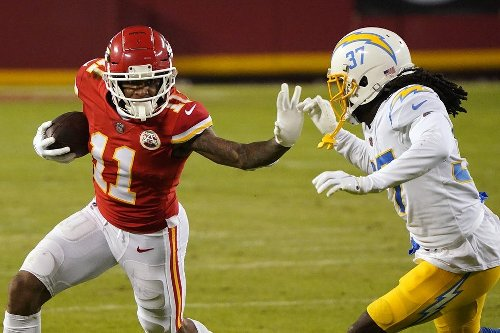 WR Demarcus Robinson: 'Chiefs just wanted me more' than the Lions