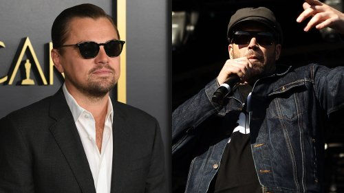 Stay Gold: Leonardo DiCaprio hung with House Of Pain's Danny Boy at The Outsiders house in Tulsa