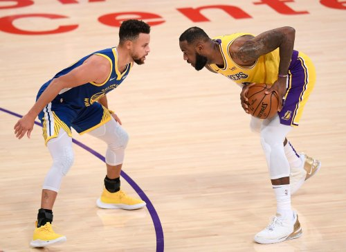 JR on Lakers-Warriors matchup: 'You've got a play-in game? I'd take LeBron'