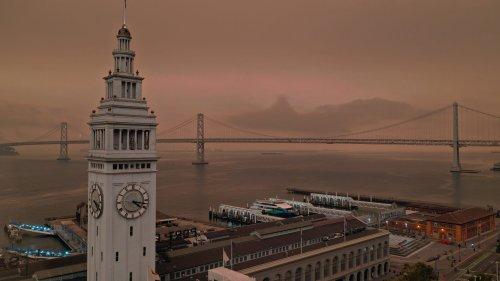Air quality advisory extended to Monday as smoke chokes Bay Area