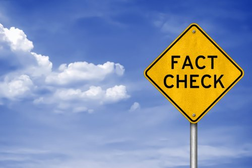 Expert says to double check, fact checking sites