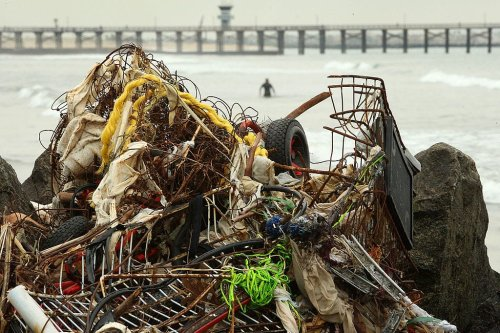 Cleanup device removes 20,000 pounds of plastic out of the Pacific Ocean