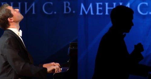 Nikolaï Lugansky joue Beethoven dans le noir après un incident technique !