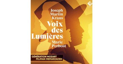 Pejman Memarzadeh réhabilite les compositeurs oubliés du 18ème siècle à travers son nouvel album « Voix des lumières »