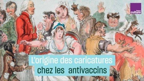 À l'origine des caricatures chez les antivaccins