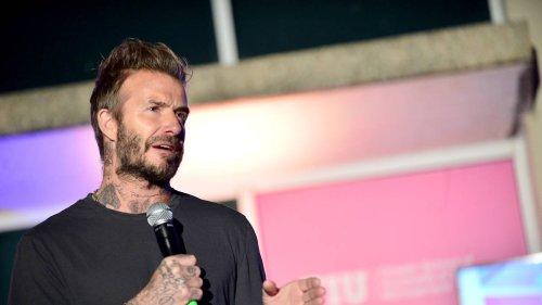 David Beckham reacts to European Super League