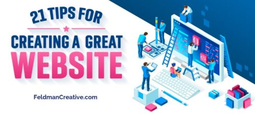 21 keys to create an inviting, exciting website