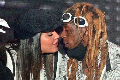 Lil Wayne Celebrates Love for Girlfriend Denise Bidot