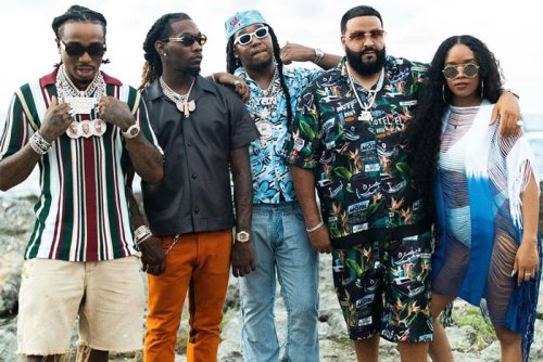 DJ Khaled Teams Up with Migos and H.E.R. in 'We Going Crazy' Video