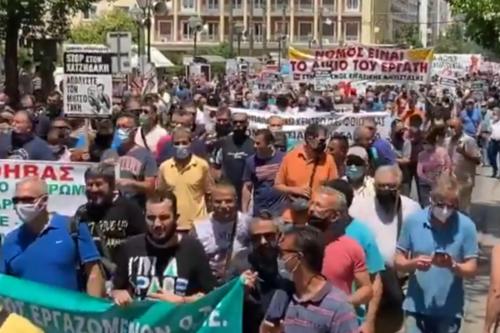 La Grèce en grève contre les heures supplémentaires non payées