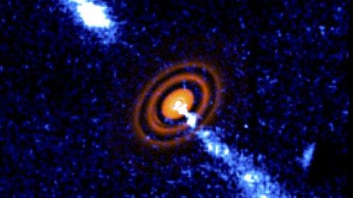 APOD/NASA: HD 163296: Oluşum Sürecindeki Yıldızdan Jetler