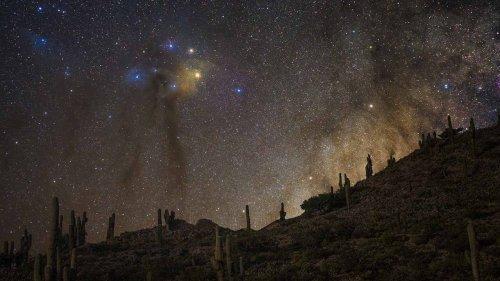 APOD/NASA: Yacoraite'de Derin Uzay Manzarası