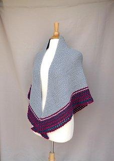 Joylin Shawl pattern by Emily Johannes