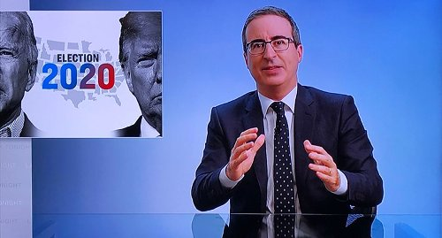 John Oliver hilariously ridicules 'pathetic' Trump team screaming about 'voter fraud'