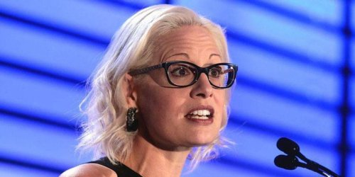 'Chaos agent' Kyrsten Sinema slammed for threatening Biden's 'entire agenda'