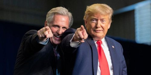 REVEALED: 'Swampy operatives' gave Kevin McCarthy a 'MAGA makeover' to build his street cred with Trump supporters