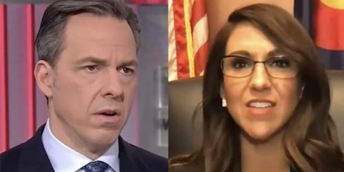 Lauren Boebert called out by CNN's Tapper for attempt to exploit the tragic death of Halyna Hutchins