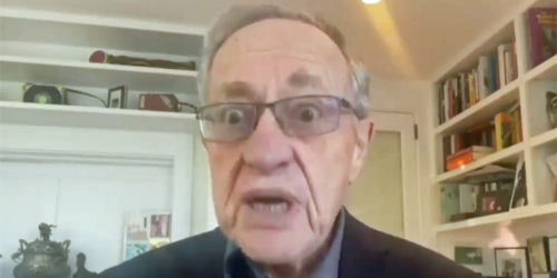 WATCH: Alan Dershowitz lashes out at Bernie Sanders — labels him a 'self-hating Jew'