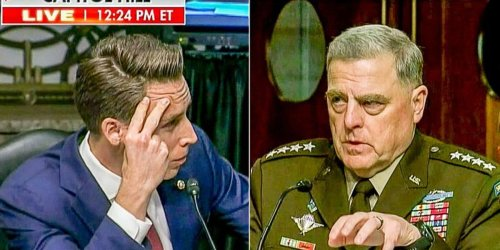 WATCH: Gen. Milley slaps down Josh Hawley for 'conflating some things' on Afghanistan
