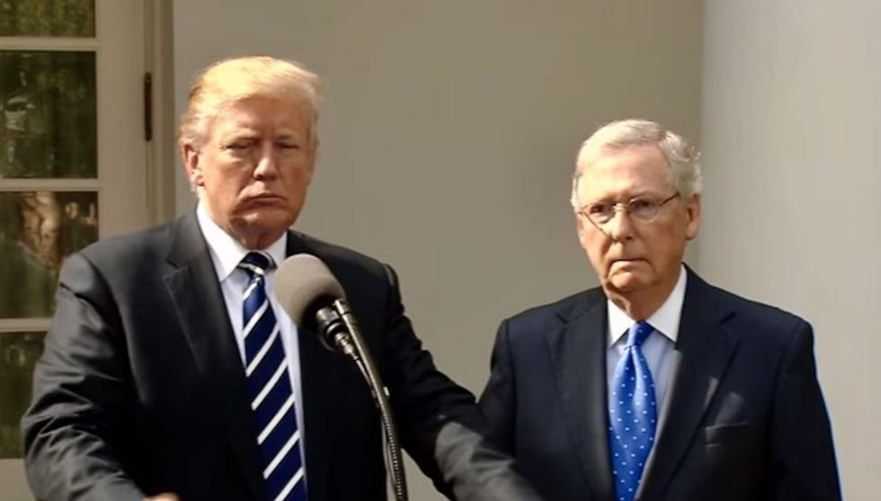 Mitch McConnell flattened by ex-White House official for plan to rush through Ginsburg replacement