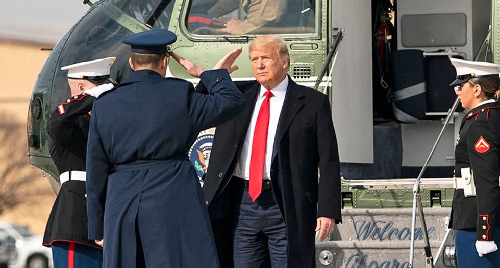 'Vile and disgusting' Trump hated by many military service members: Retired general