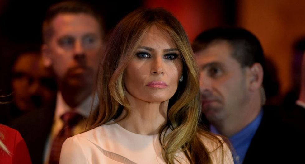 Melania Trump is exactly like her husband in 'character and priorities': columnist