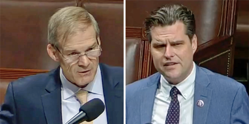 'Utter garbage': Jim Jordan and Matt Gaetz ridiculed for 'nonsensical' arguments by CNN legal analyst