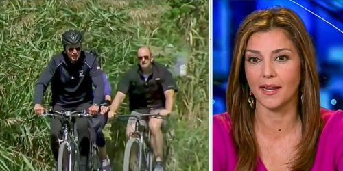 Fox News slams Biden for riding a bicycle: 'Just compare it to President Donald Trump'