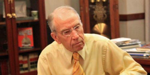 'Servile' Chuck Grassley slammed by career federal prosecutor in blistering op-ed