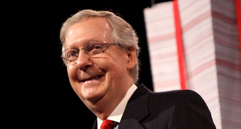 Mitch McConnell vows there will be a Senate floor vote on Trump's nominee to replace Ruth Bader Gingsburg