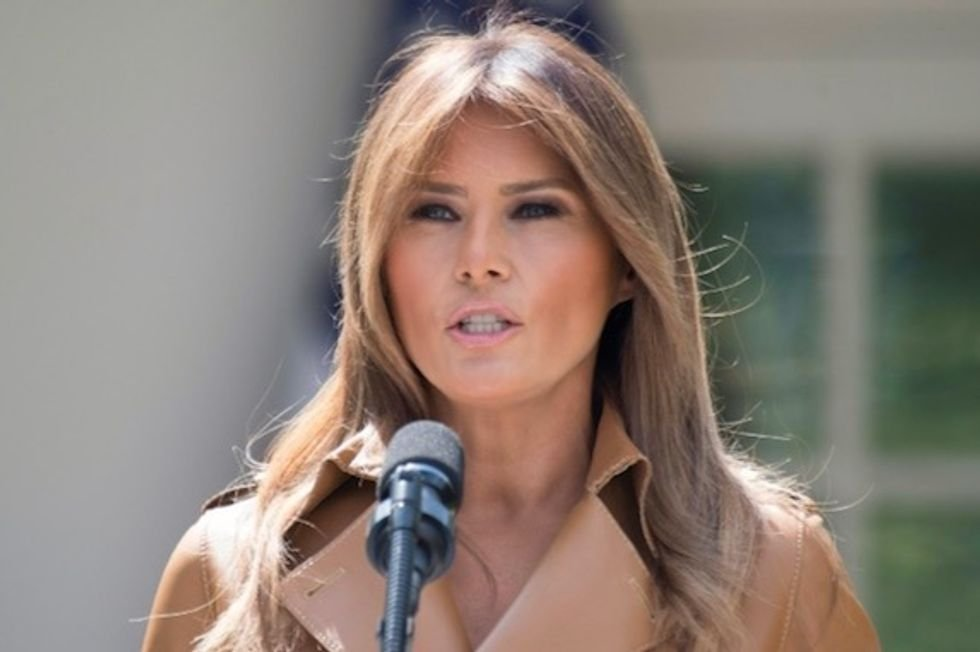 'The elephant not in the room' and the strange emptiness of the Melania Trump biography