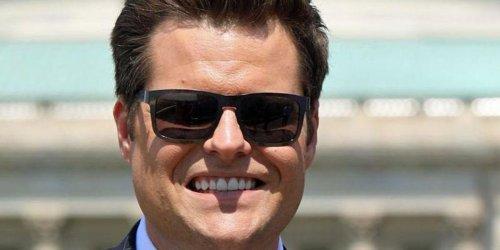 Matt Gaetz has a cocaine scandal — he used to demand drug-testing welfare recipients