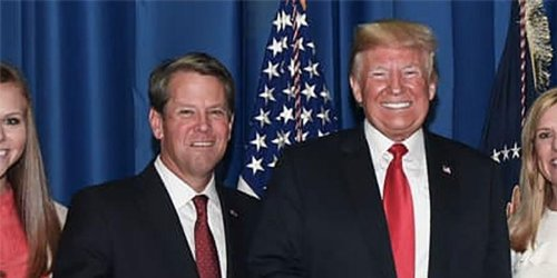 Here's how Brian Kemp is outmaneuvering Trump in Georgia