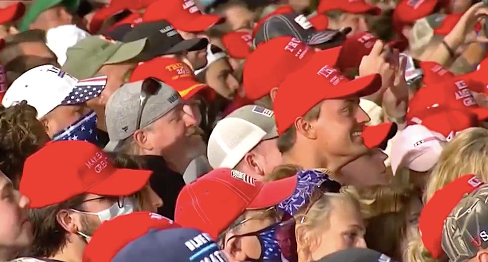 'Dangerous' Trump is glorifying violence — and his 'fascist' fans love it