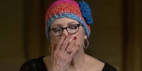 Capitol attacker's mother sobs talking about how Trump doesn't care about her son — or his jailed followers