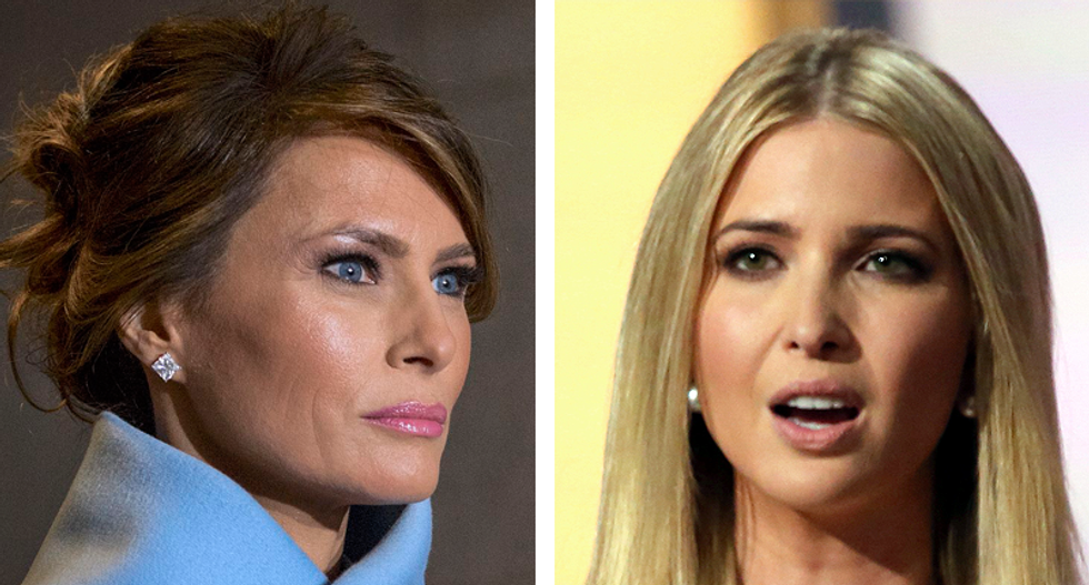 Melania Trump would 'roll her eyes' and 'mumble no thank you' when Ivanka talked about becoming 'America's first female president': book