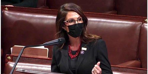 Lauren Boebert's stunt at Biden's congressional address hilariously backfires