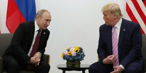 Trump told Putin he was going to 'act a little tougher' in front of the cameras: New book