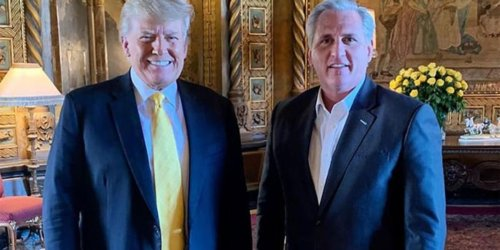 Kevin McCarthy blasted for calling the GOP 'big tent' while canceling Cheney: 'Beatings to continue until morale improves'