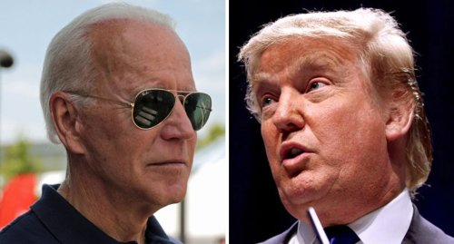 Biden trashes Trump for being 'too scared' to repudiate Kyle Rittenhouse: 'He is too weak'