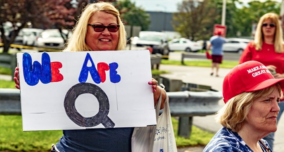 Republicans deploying a nationwide 'QAnon strategy' to exploit fear and paranoia fueled by the conspiracy cult: report